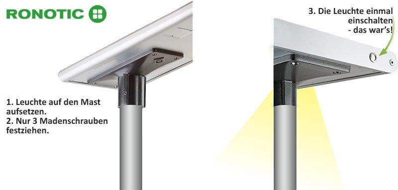 Montageanleitung RONOTIC® Solarleuchten